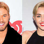 Miley Cyrus and Kellan Lutz