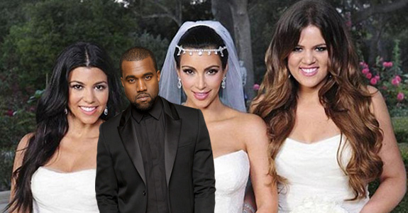 Kim and Kanye's wedding will be turned into a TV special