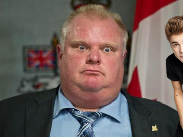 Justin Bieber and Rob Ford hate each other!