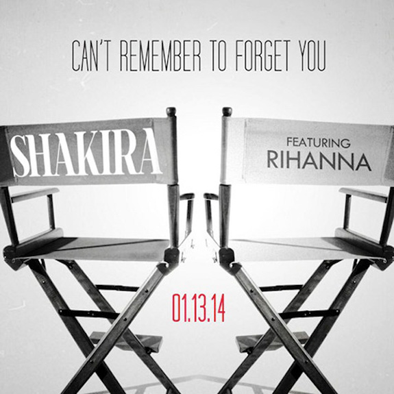 "Shakira and Rihanna ""Can't Remember To Forget You"""