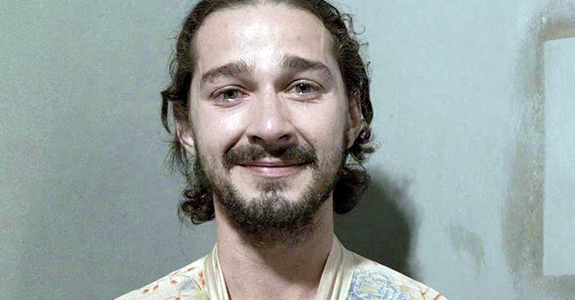 Shia LaBeouf chased after a homeless man for food?