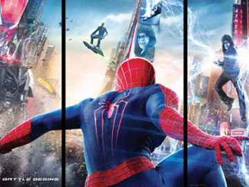 'The Amazing Spider-Man 2' does Times Square