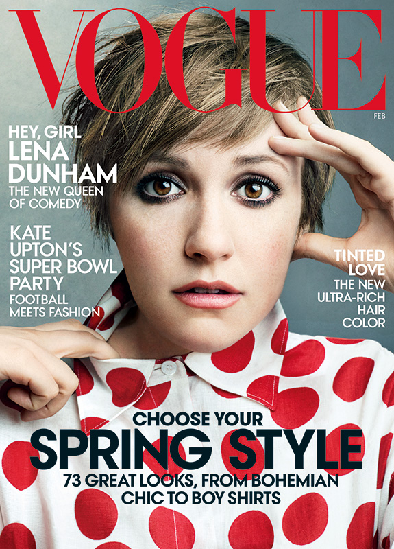 Lena Dunham Vogue February 2014