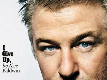 Alec Baldwin sashays away with class and sophistication