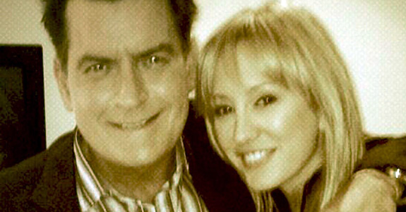 Charlie Sheen's fiancée is still technically married