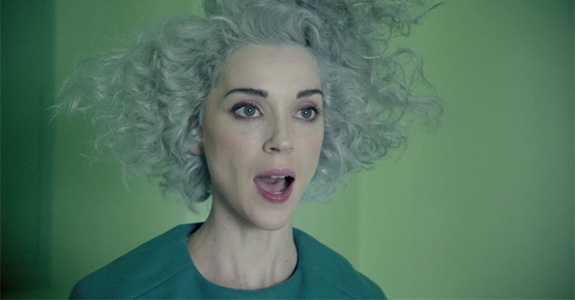 "Music Video: St. Vincent's ""Digital Witness"""