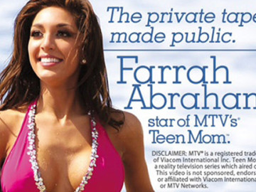 Farrah Abraham is already selling out Vivid Video