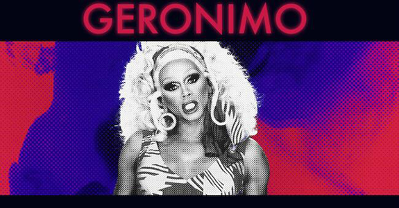 "RuPaul releases the music video for ""Geronimo"""