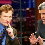 Conan O'Brien and Jay Leno