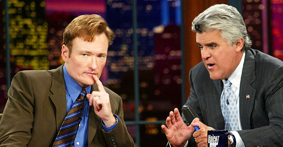 Conan O'Brien got one last dig in at Jay Leno