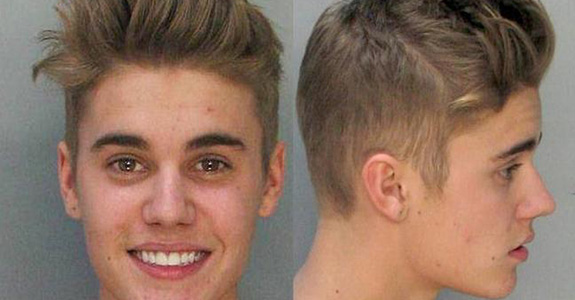 There's a video of Justin Bieber urinating in jail