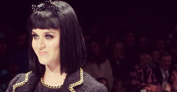 Katy Perry: Booed for showing up late to Milan Fashion Week