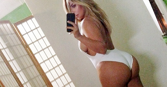 Kim Kardashian: Whining about butt implant rumors again!