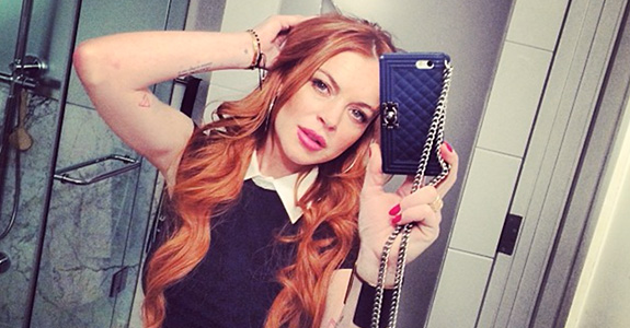 Lindsay Lohan: Accused of stealing an app!