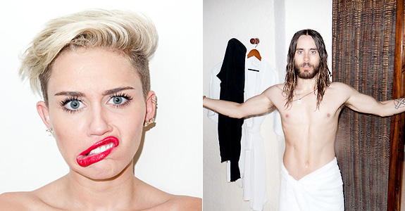 Miley Cyrus and Jared Leto might be doing it!
