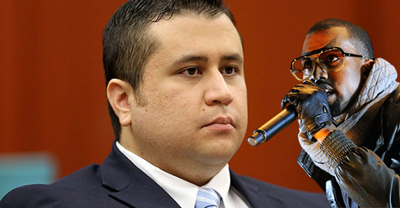 George Zimmerman wants to box Kanye West?