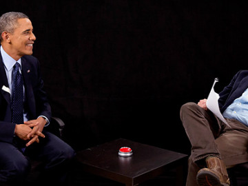 Barack Obama does 'Between Two Ferns' w/ Zach Galifianakis