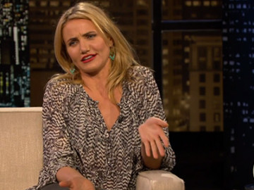 Cameron Diaz is still talking about her vagina