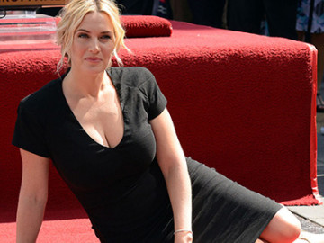Kate Winslet received a star on Hollywood's Walk of Fame!