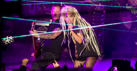 """Hi, I'm Lady Gaga, and this is Jackass!"""