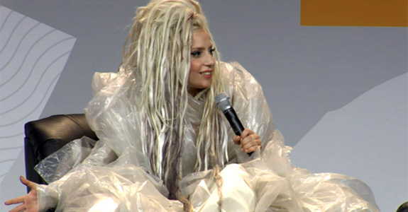Lady Gaga thinks way too highly of being puked on