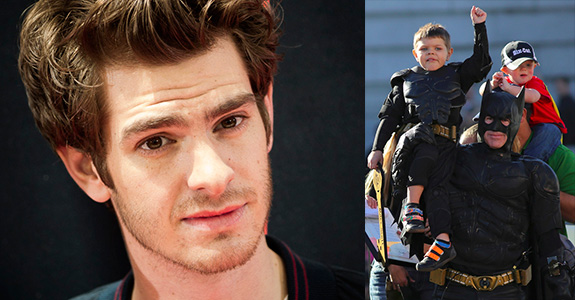 Andrew Garfield snubbed Batkid at the Oscars!