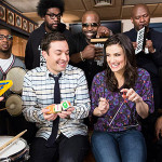 Idina Menzel, Jimmy Fallon and The Roots