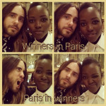 Lupita Nyong'o and Jared Leto