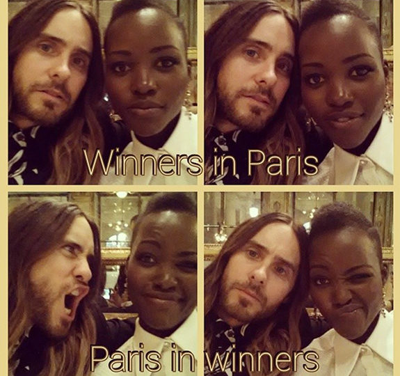 Lupita Nyong'o and Jared Leto are getting … closer?