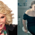 Joan Rivers and Lena Dunham