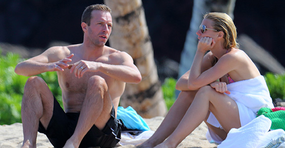 Gwyneth and Chris' 'conscious uncoupling' is going well?