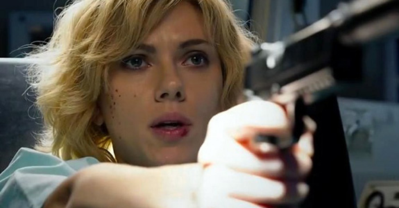 Watch Scarlett Johansson in the trailer for 'Lucy'