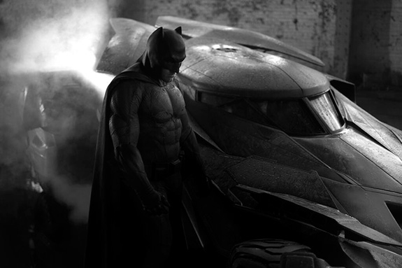 Oh look … it's Ben Affleck in his Batman costume!