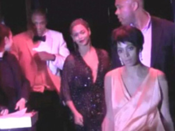 Beyoncé and company is addressing that elevator fight …