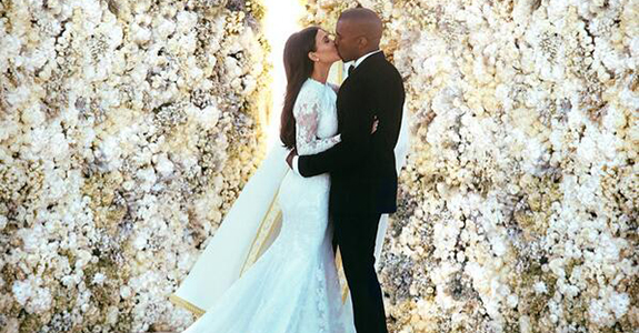 Kim and Kanye's wedding was literally insane