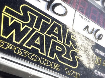 It's official: 'Star Wars VII' has started filming!