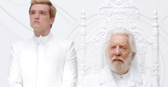 The first teaser for 'The Hunger Games: Mockingjay, Pt 1'