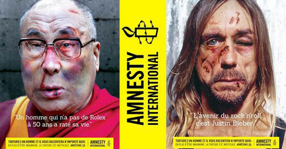 Amnesty International apologizes to Iggy Pop over Justin Bieber torture ad