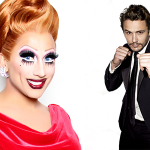 Bianca Del Rio and James Franco