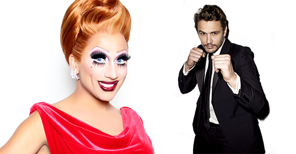 Here's Bianca Del Rio ripping off James Franco's pants …