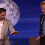 Joe Manganiello and Conan O'Brien