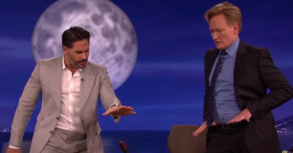 Joe Manganiello taught Conan O'Brien how to be a stripper