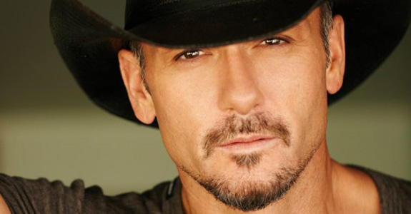 Tim McGraw doesn't appreciate his jeans being torn off!