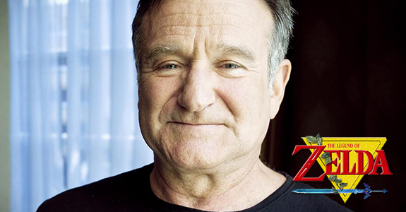 Fans are trying to get Robin Williams into 'Legend of Zelda'