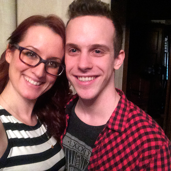 Ingrid Michaelson and Alex Nagorski