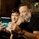 Robin Williams with daughter Zelda Williams