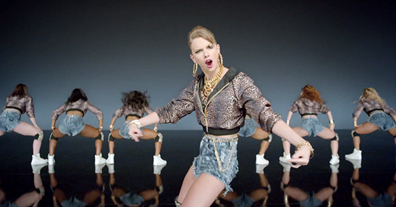 "Taylor Swift has decided to ""Shake It Off"""