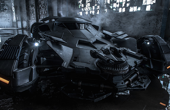 Look kids, it's the new Batmobile!