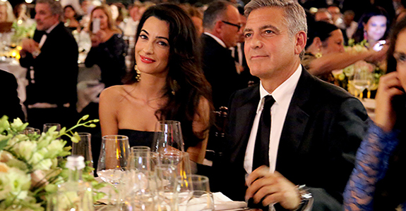 Just Married: George Clooney and Amal Alamuddin