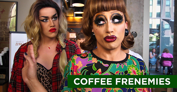Adore Delano & Bianca Del Rio star in Starbucks' first LGBT ad!
